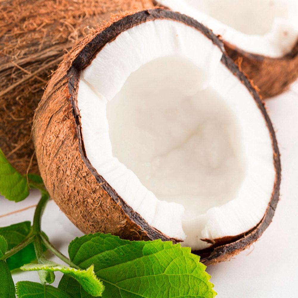 A l'huile de coco